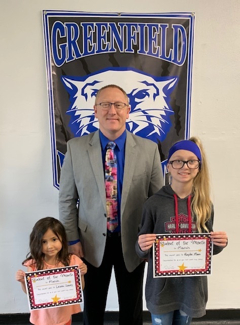 Greenfield Elementary Students of the Month