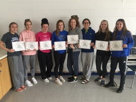 Lady Wildcat Volleyball Receives Academic All-State Honors