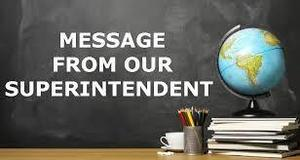 March Superintendent Update