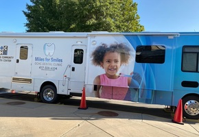 Miles for Smiles Mobile Dental Unit Visits Greenfield Schools