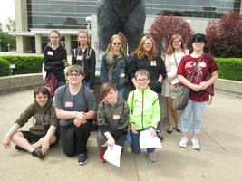 Greenfield Students Attend Writing Conference