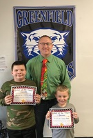 Elementary Students of the Month December