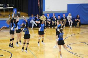 Greenfield Volleyball Ends Season