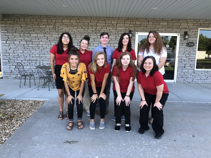 FCCLA Officers and Senior Leaders