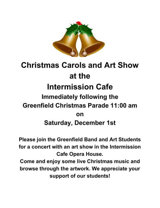 Christmas Carols & Art Show