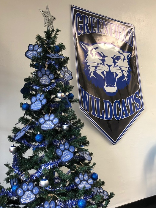 The Wildcats Helping Hand Tree