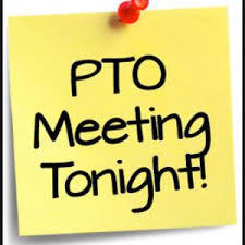 PTO Meeting Tonight April 1st @ 5:30