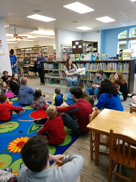 Greenfield Preschool at the Dade County Library