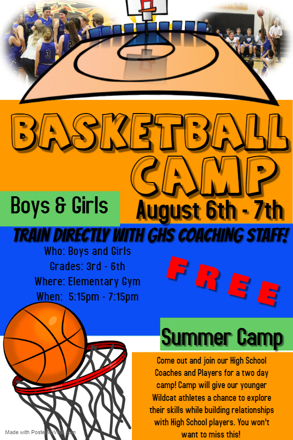 Elementary Summer Basketball Camp