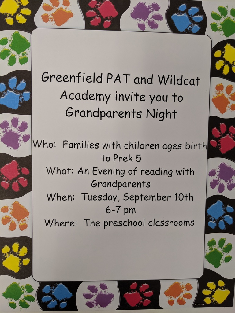 Wildcat Academy Grandparents Night