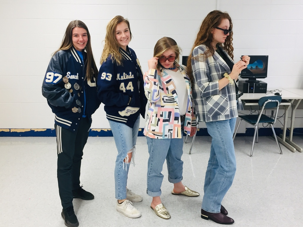Spirit Week - RETRO DAY
