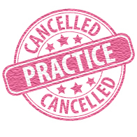 JH Practice Cancelled